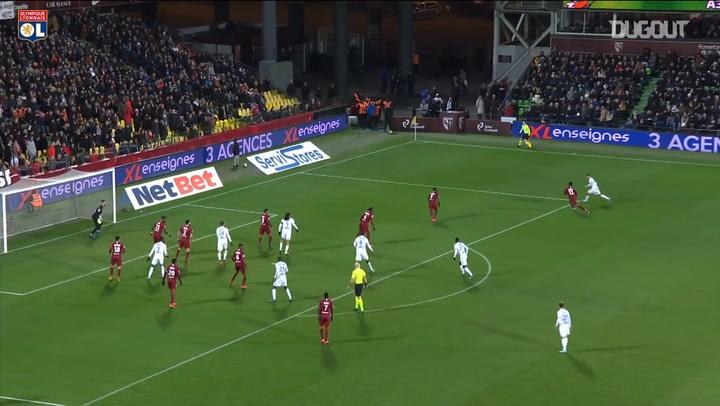 Dembélé and Aouar secure win over Metz