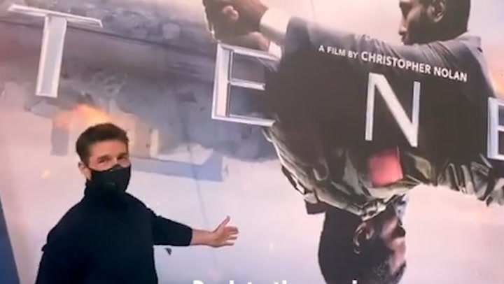 Tom Cruise va al cine en Londres