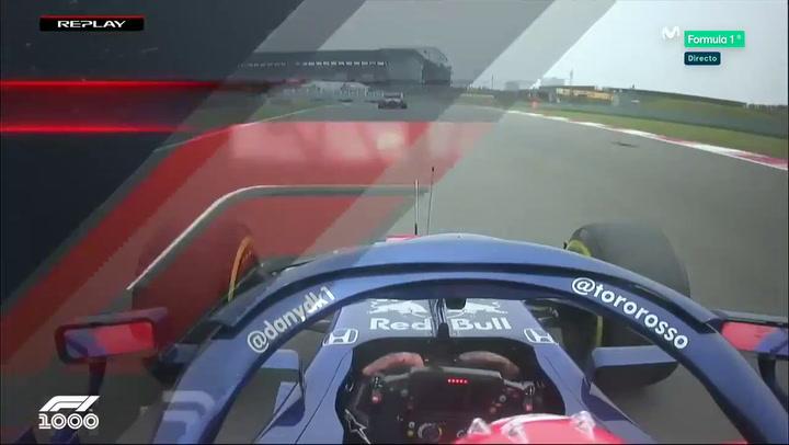Kvyat se lleva a los dos McLaren por delante en la salida del GP de China