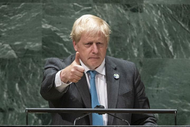 Boris Johnson makes Kermit the frog joke at UN meeting: 'Easy being green'