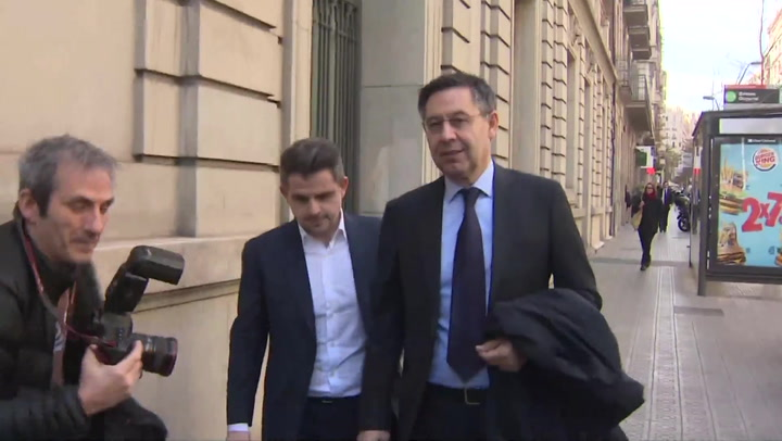 En libertad provisional Bartomeu y Masferrer tras su comparecencia por el 'Barça Gate'