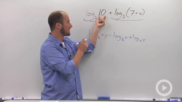 Product Rule of Logarithms - Problem 2