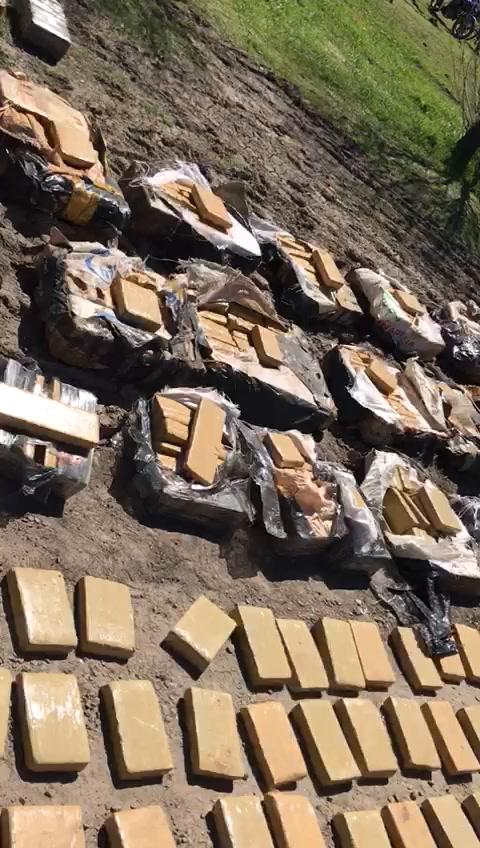 Incautaron cargamento millonario de droga en un operativo en Entre Ríos