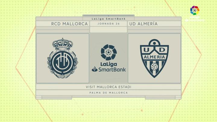 LaLiga SmartBank (J26): Resumen y goles del Mallorca 2-0 Almería