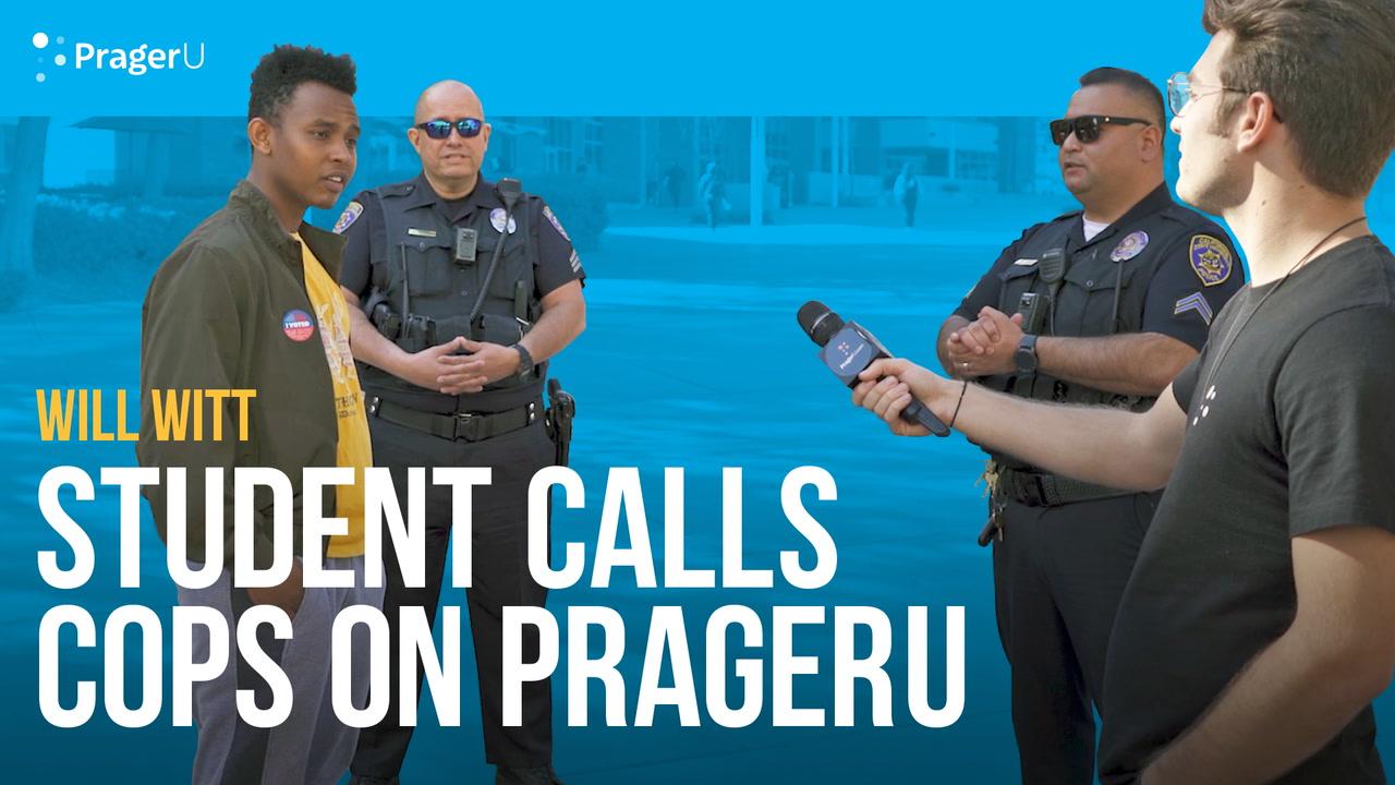 Student Calls Cops on PragerU