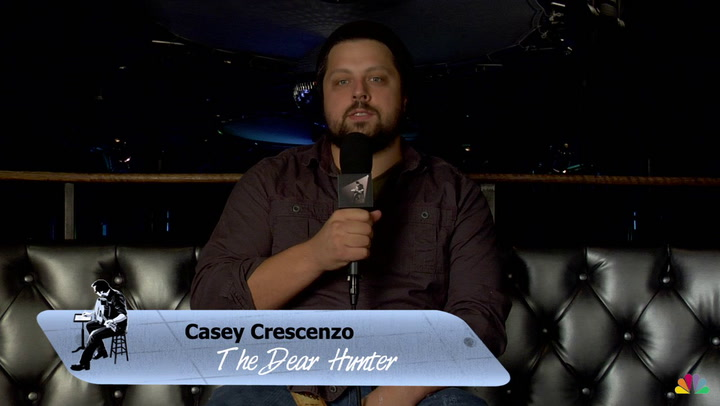 Casey Crescenzo and The Dear Hunter are featured on The Jimmy Lloyd Songwriter Showcase