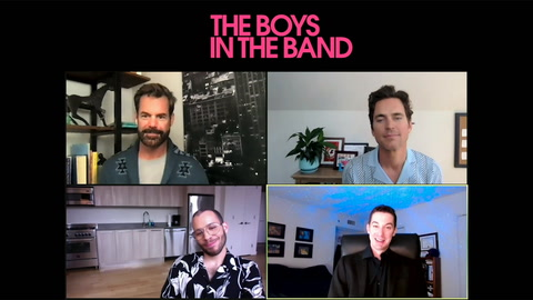 Matt Bomer, Tuc Watkins & Robin De Jesus talk 'The Boys in the Band