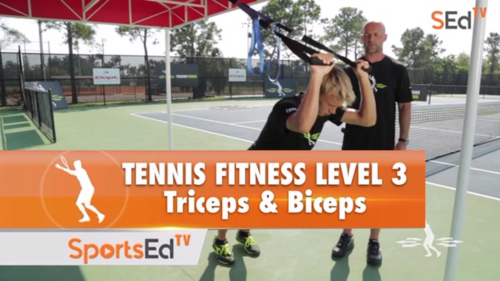 Tennis Fitness Level 3 / Triceps & Biceps