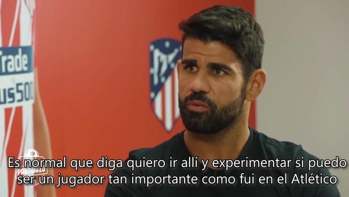 Diego Costa habla de la decisión de Griezmann de ir al Barça