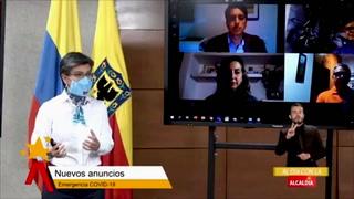 Bogotá extiende cuarentena, para intentar frenar velocidad de contagios por covid