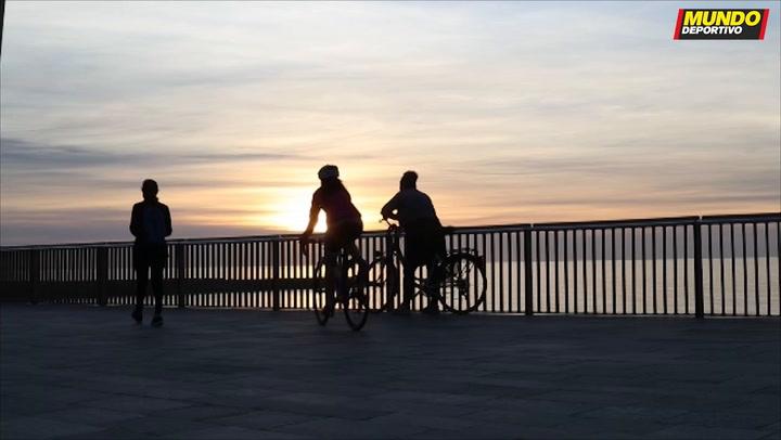 Así está Barcelona en el primer fin de semana de deporte al aire libre