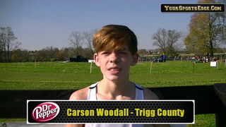 Woodall Answers the State Meet Bell