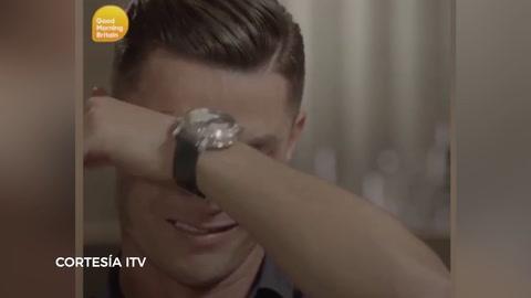 Cristiano Ronaldo rompió en llanto en plena entrevista al recordar a su padre