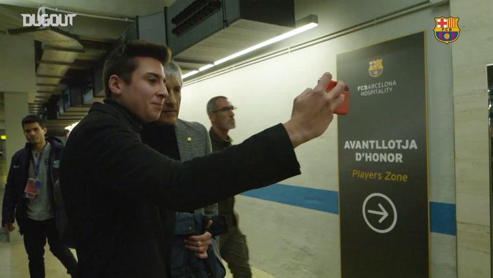 Behind the Scenes: Quique Setién's first game as Barça coach