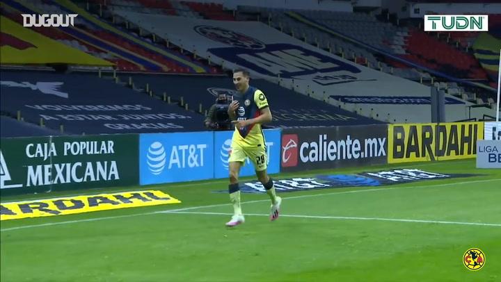 Mauro Lainez's first Club América goal