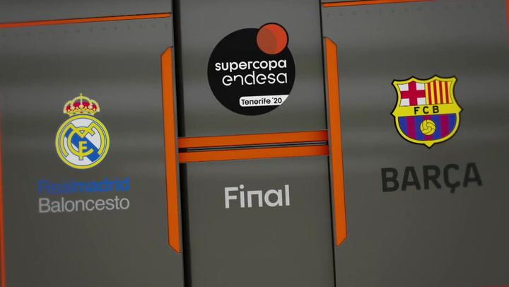Real Madrid - Barça (72-67) Supercopa Endesa 2020