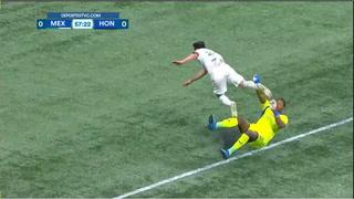 Buba López se lesiona y es sustituido por Alex Güity, quien debuta con la Selección Mayor de Honduras