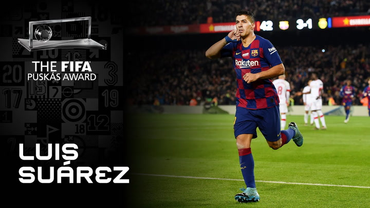 Gol de Luis Suarez - Finalista FIFA Puskas Award 2020