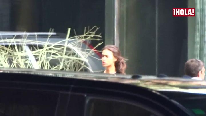 Primeras imágenes de Irina Shayk tras conocerse su romance con Bradley Cooper