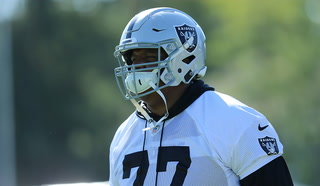 Raiders offensive line a focus at training camp