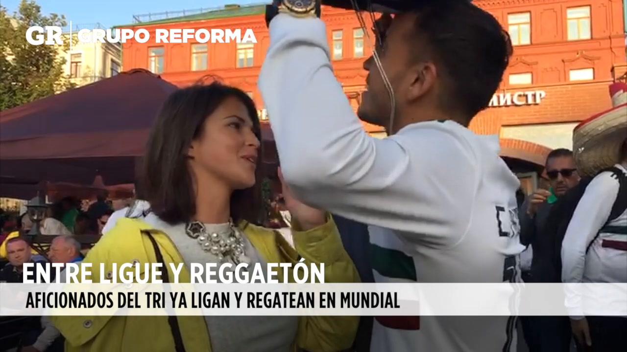 Video: Conquistan Rusia aficionados mexicanos