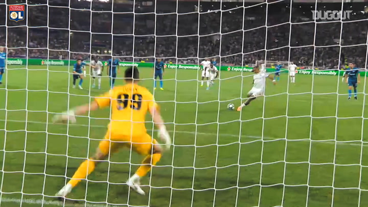 All Memphis Depay's goals in Champions League 2019-20