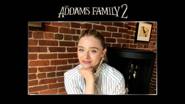 'The Addams Family 2' Interview with Chloë Grace Moretz