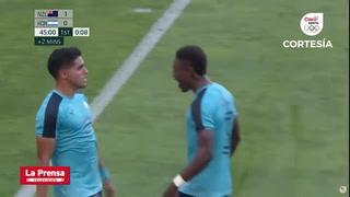 Luis Palma marca el empate de Honduras contra Nueva Zelanda