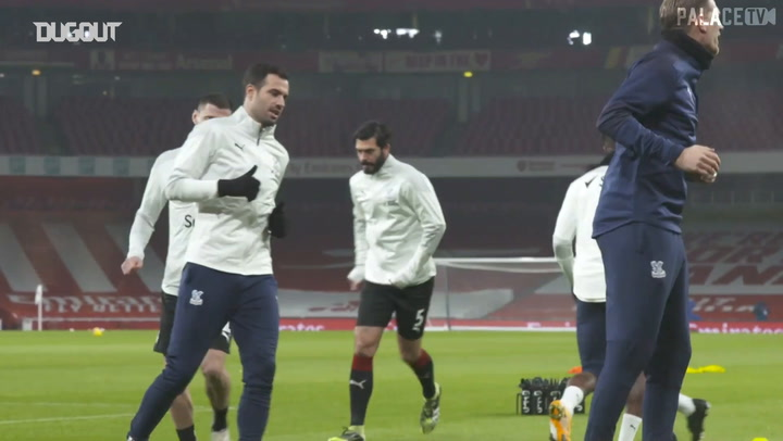 Pitchside view: Eagles draw with Arsenal at the Emirates