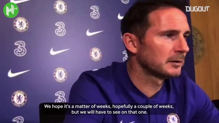 Lampard gives update on new signings, talks expectations for season