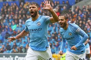 Manchester City saca su furia y golea al Cardiff City en la Premier