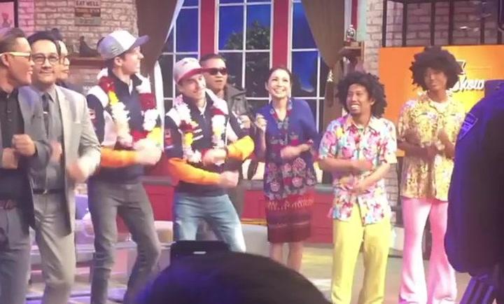Los Márquez se marcan un baile en una televisión de Indonesia