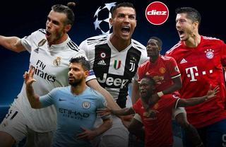 ¡Partidazos! Así se jugará este martes la jornada de la Champions League