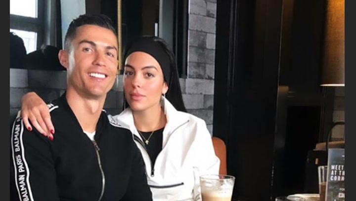 Cristiano Ronaldo, Georgina Rodríguez y su particular karaoke sobre ruedas