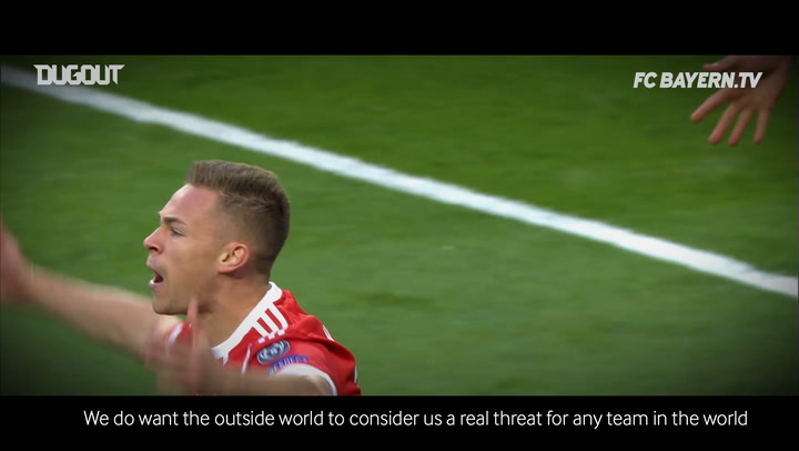 Joshua Kimmich on the new Champions League Season