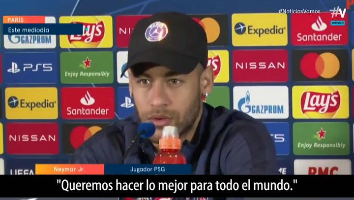 """Neymar, sobre su futuro: """"Haré lo que sea mejor para todo el mundo"""""""