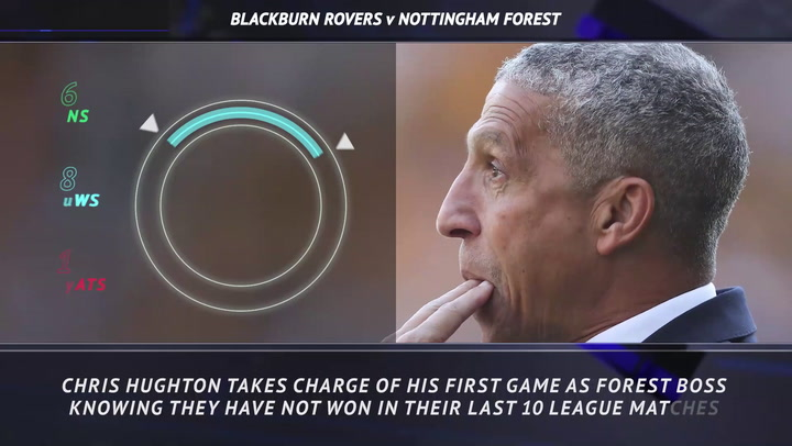 5 things - Hughton looking to end Forest's rotten run