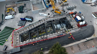 Las Vegas Convention Center people mover begins tunneling – VIDEO