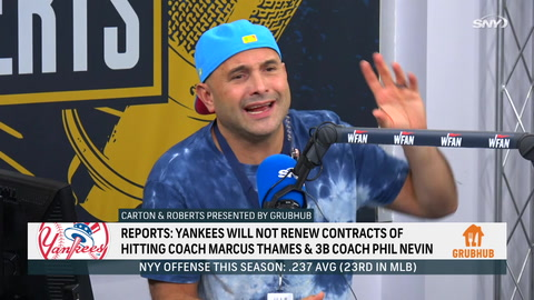 Reacting to Yankees' parting ways with Phil Nevin, Marcus Thames
