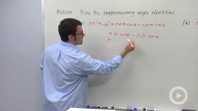 Using the Sine and Cosine Addition Formulas to Prove Identities - Problem 2