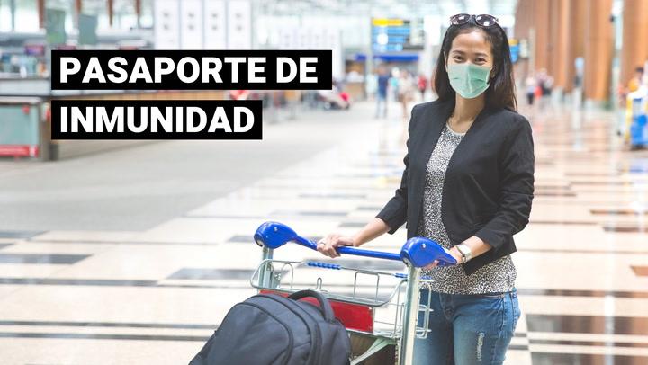 """OMS evalúa el uso de """"pasaportes de vacunación"""" para viajeros internacionales"""