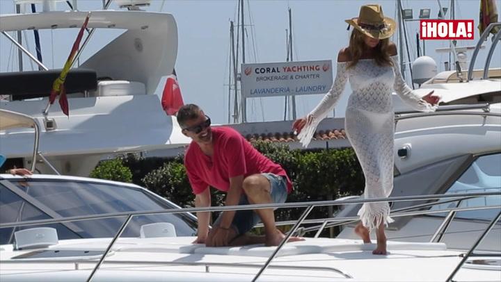 Ana Obregón se adelanta al verano en Ibiza