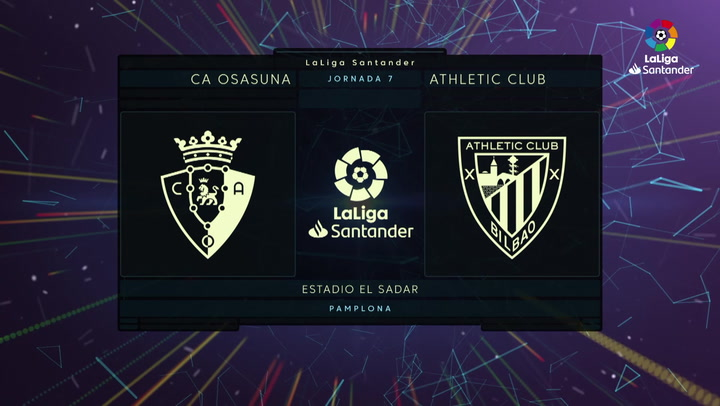 LaLiga (J7): Resumen y gol del Osasuna 1-0 Athletic