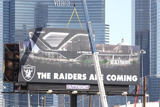 A look at the Raiders stadium site in Las Vegas – Heidi Fang