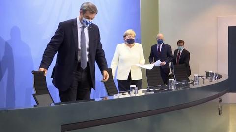 Alemania limita reuniones familiares y fiestas para contener rebrote de covid-19