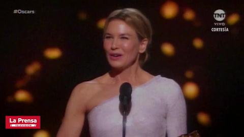 Renée Zellweger se corona como la mejor actriz por