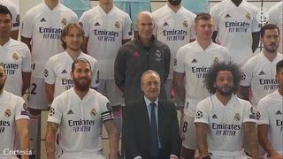Real Madrid presentó plantilla oficial para la temporada 2021