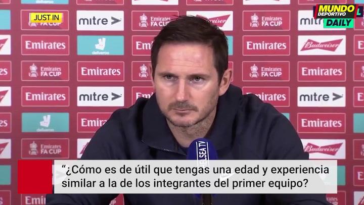Tensión en el Chelsea: Lampard se enfrenta a un periodista