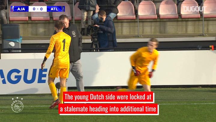 Daan Reiziger's incredible penalty heroics against Atlético U19