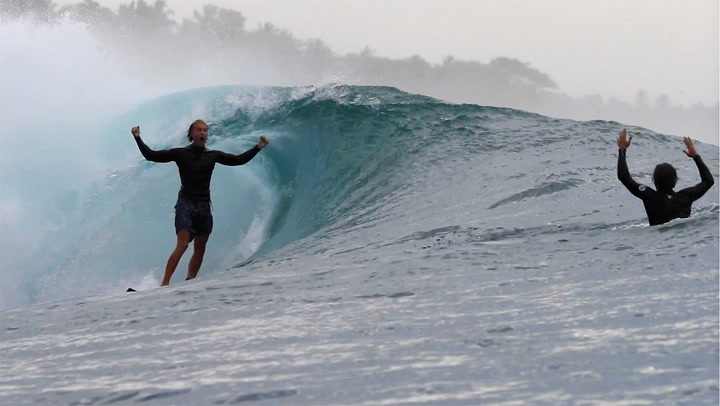Peter Laing surfed a single wave at Greenbush, and it was by far the best wave he's ever surfed.